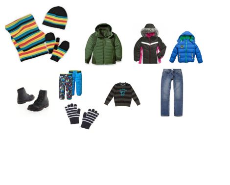 Set of Winter clothes CHILD 5 YEARS