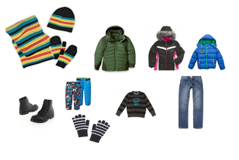 Set of Winter clothes CHILD 7 YEARS