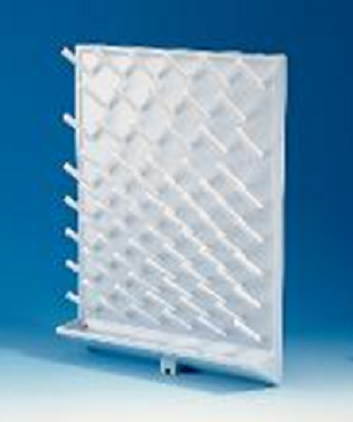 Rack, drying glass & plastic ware