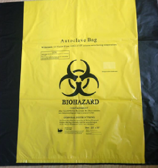 Bag,biohazard,6-10L,box/10
