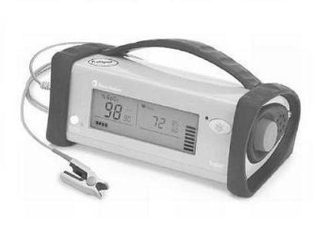 Pulse oximeter,portable,w/access
