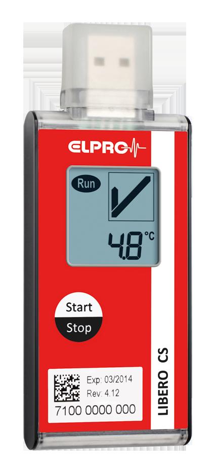 Elpro LIBERO Ti1 TempLogger PQS E006/024