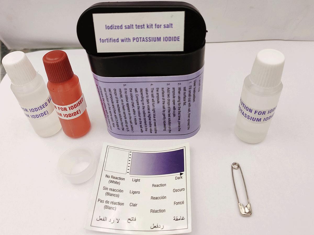 Salt test kit, salt fort. w/IODIDE 2ind