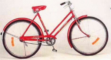Bicycle,heavy duty,roadster,ladies