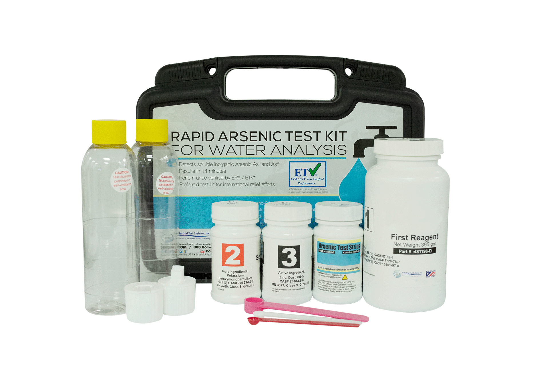 Arsenic test kit,extended range **