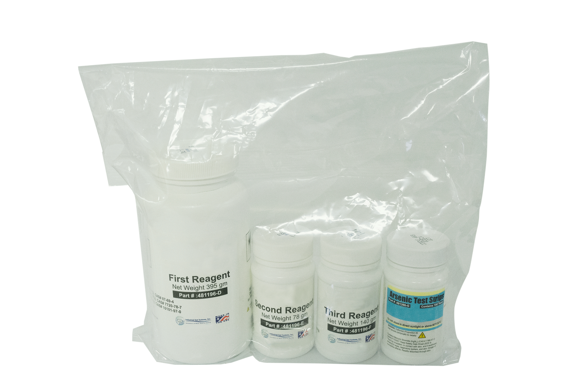 Consumables, arsenic test kit