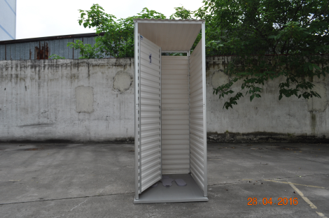 Latrine superstructure, single cubicle