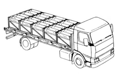 Water tank,modular rigid,PVC/PE 10x1cbm
