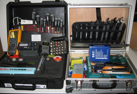 Tool kit,f. ICT technicians,220 VAC eqpt
