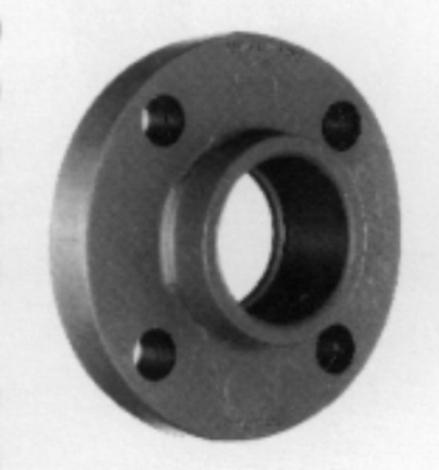 """Coupler,PVC,skt scj/flange,75mm x 2½"""""""
