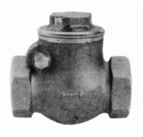 "Valve,check,cast iron,100mm/4"",10 Bar"