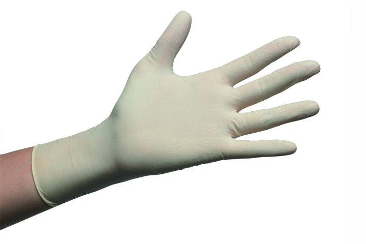 Gloves,exam,latex,pwdfree,medium/BOX-100