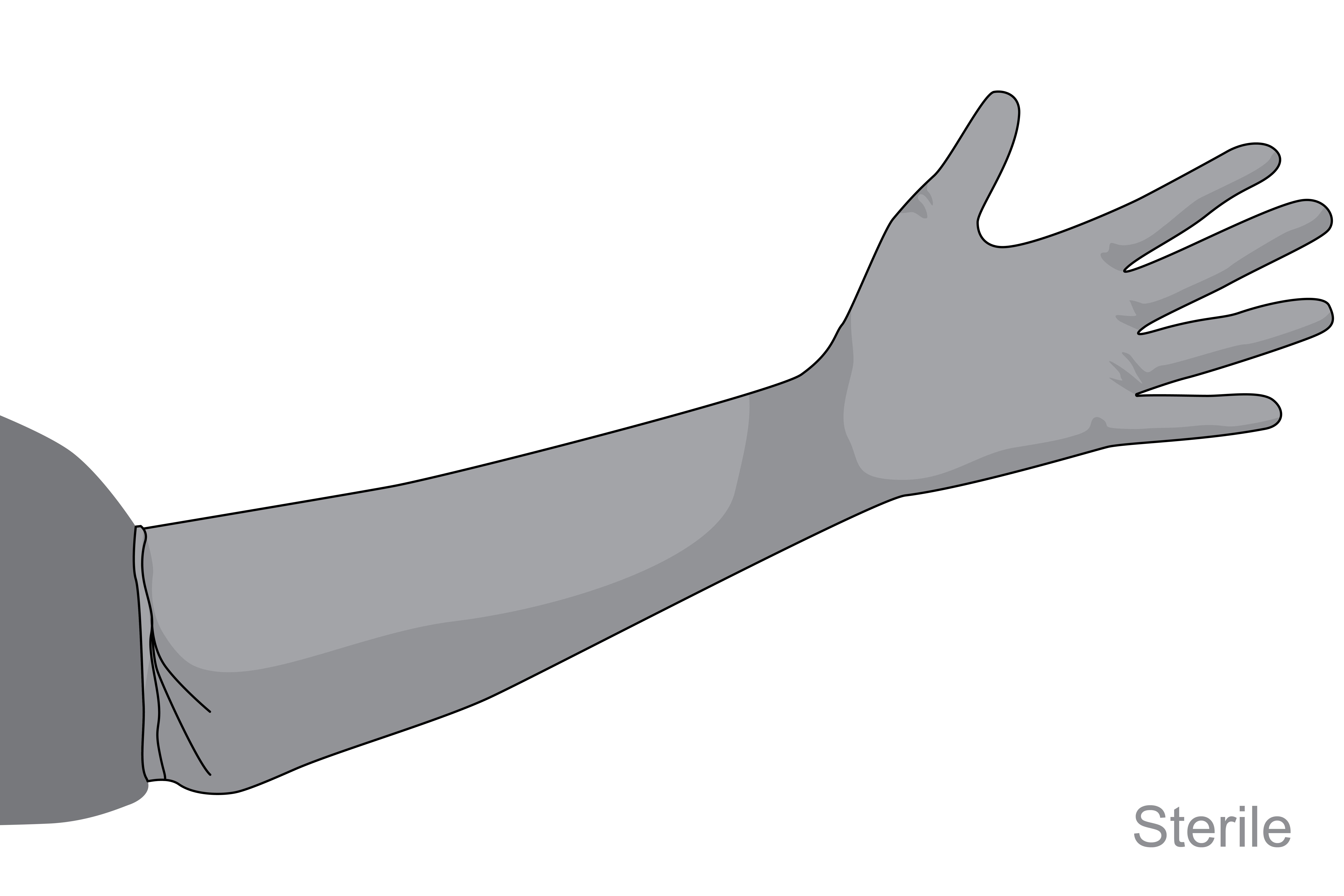 Gloves,gyn,pwdfree,medium,ster,s.u.,pair