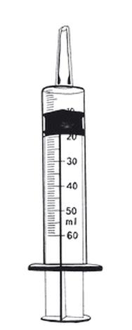 Syringe,feeding,50ml,catheter tip,ster