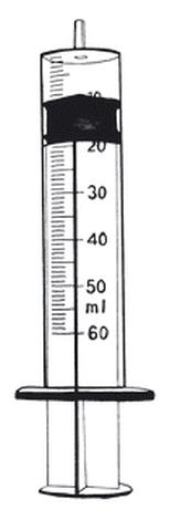 Syringe,feeding,50ml,luer tip,ster