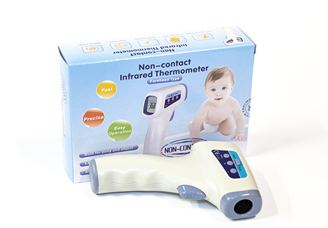 Thermometer, clinical, IR,handheld set