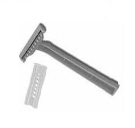 Razor,single edge,plastic,s.u./PAC-10