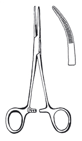 Forceps,artery,Kelly,140mm,cvd