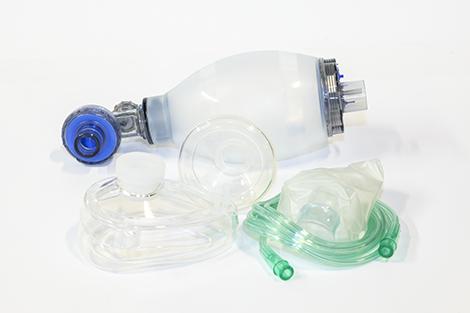 Resuscitator,hand-oper.,child,set