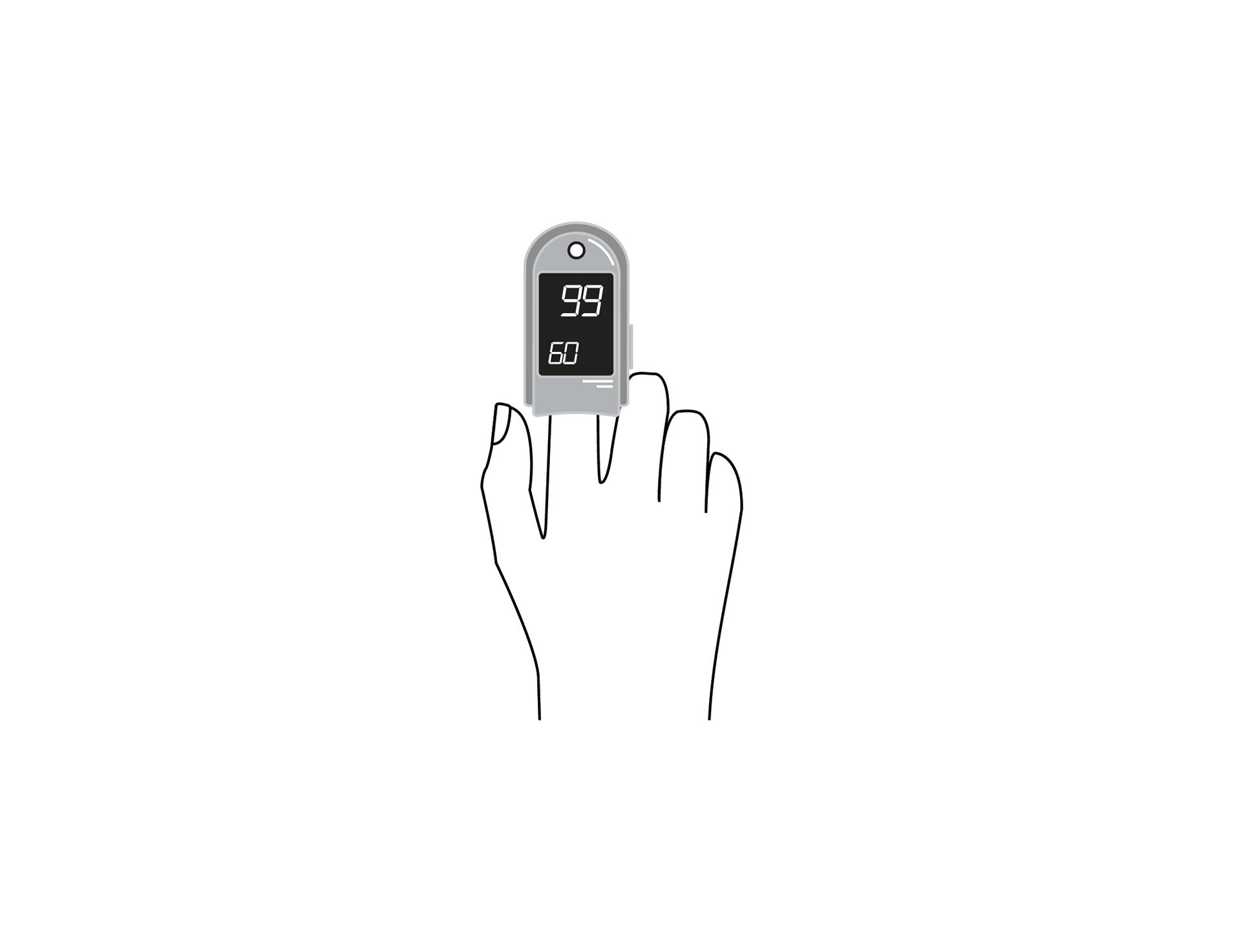 Pulseoximeter,spot-check,w/accessories