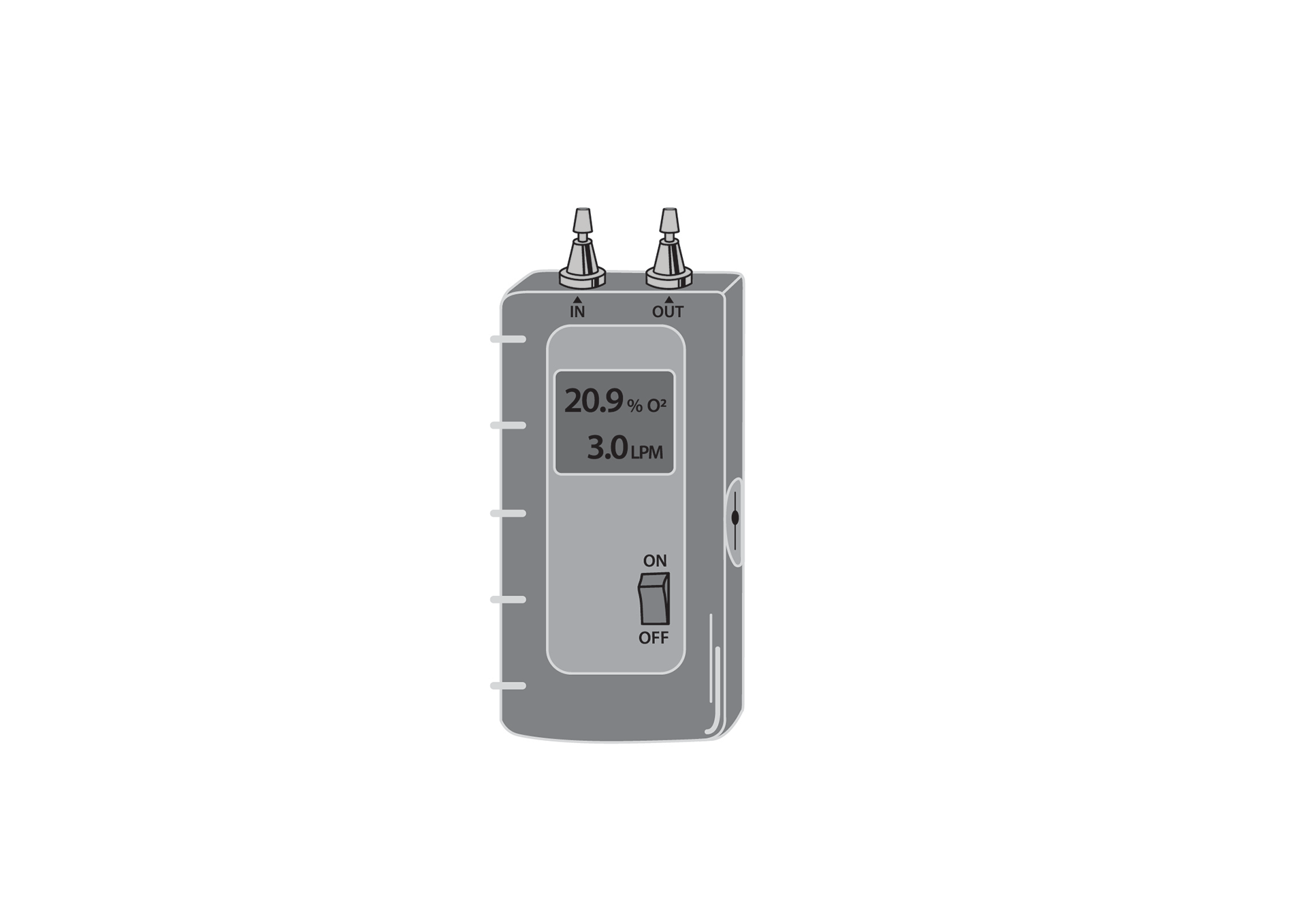Oxygen Analyzer, ultrasonic, handheld