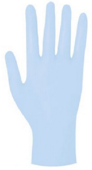 Gloves,w/o powder,nitrile,L,disp,box/100
