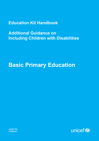 Children w/ Disability Guide SIB Kit