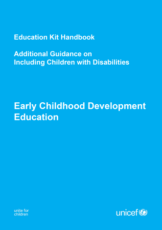 Children w/ Disability Guide ECD Kit