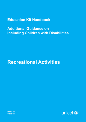 Children w/ Disability Guide REC Kit