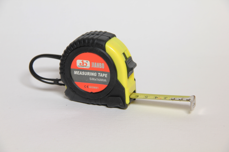 Tape, measure, 5 m, retractable