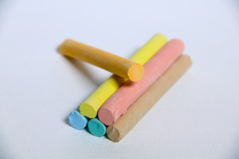 Chalk,assorted colours/BOX-100