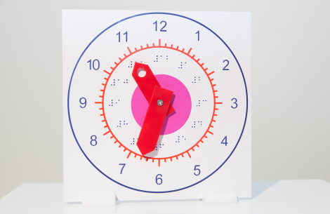 Clock,teaching,wood or plastic