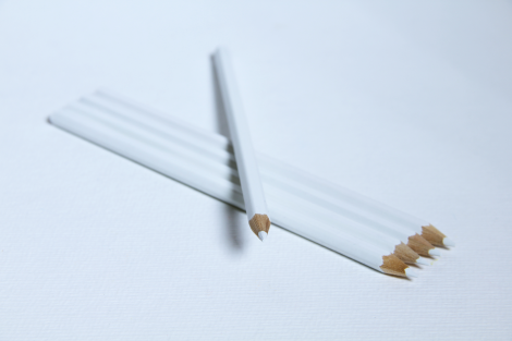 White pencil for slates,BOX-20