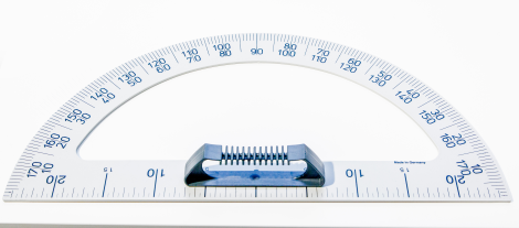 Protractor,plastic,for Blackboard,44cm