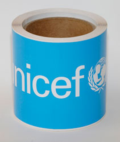 Decal,UNICEF,rect,205x105mm/RL-50