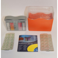 Chlorine Pooltester,visual,block,simple