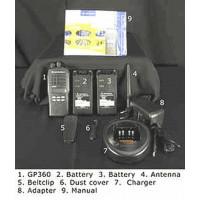 VHF portable radio kit,Motorola GP360