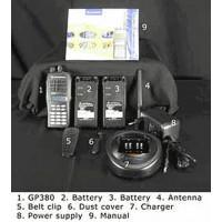 VHF portable radio kit,Motorola GP380