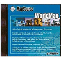 Map software for GPS receiver