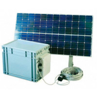 100 Wp Solar Power System,complete