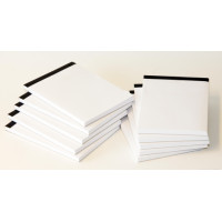 Notepad,plain,100 sheets,A6 size/PAC-10