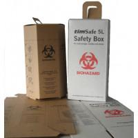 Safety box f.used syrgs/ndls 5lt/BOX-25