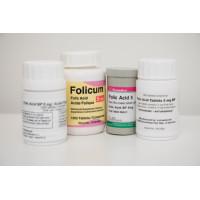 Folic acid 5mg tabs/PAC-1000