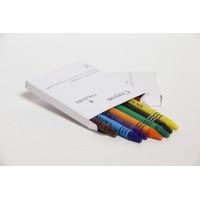 Crayon,wax,packs of 8 colours/BOX-10x8