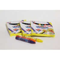 Crayon,wax,jumbo,ass. colours/BOX-8