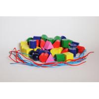 Beads,wood,col,/BOX-50