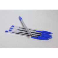 Pen,ball-point,blue/BOX-10