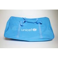 Bag,UNICEF,blue polyester,360x230x610mm