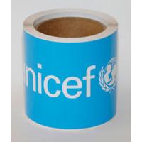 Decal,UNICEF,rect,205x105mm/RL-50