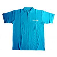 UNICEF Adult Polo-shirt, cyan blue,M